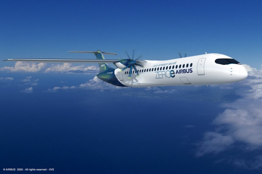 Airbus Avião Turboélice Conceito ZEROe