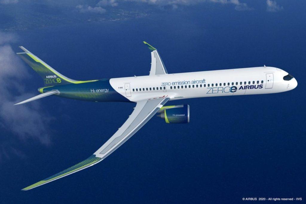 Airbus Avião Turbofan Conceito ZEROe