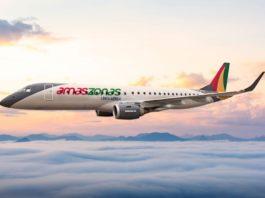 Avião Amaszonas Bolívia Embraer 190