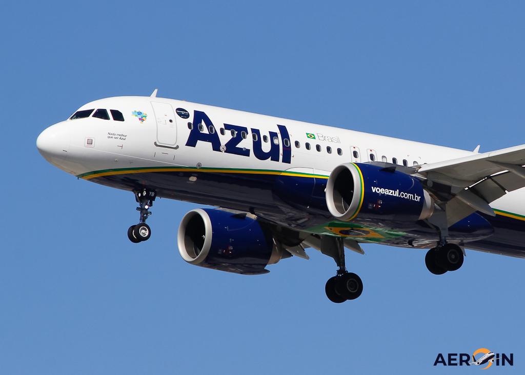 Avião Airbus A320neo Azul Linhas Aéreas