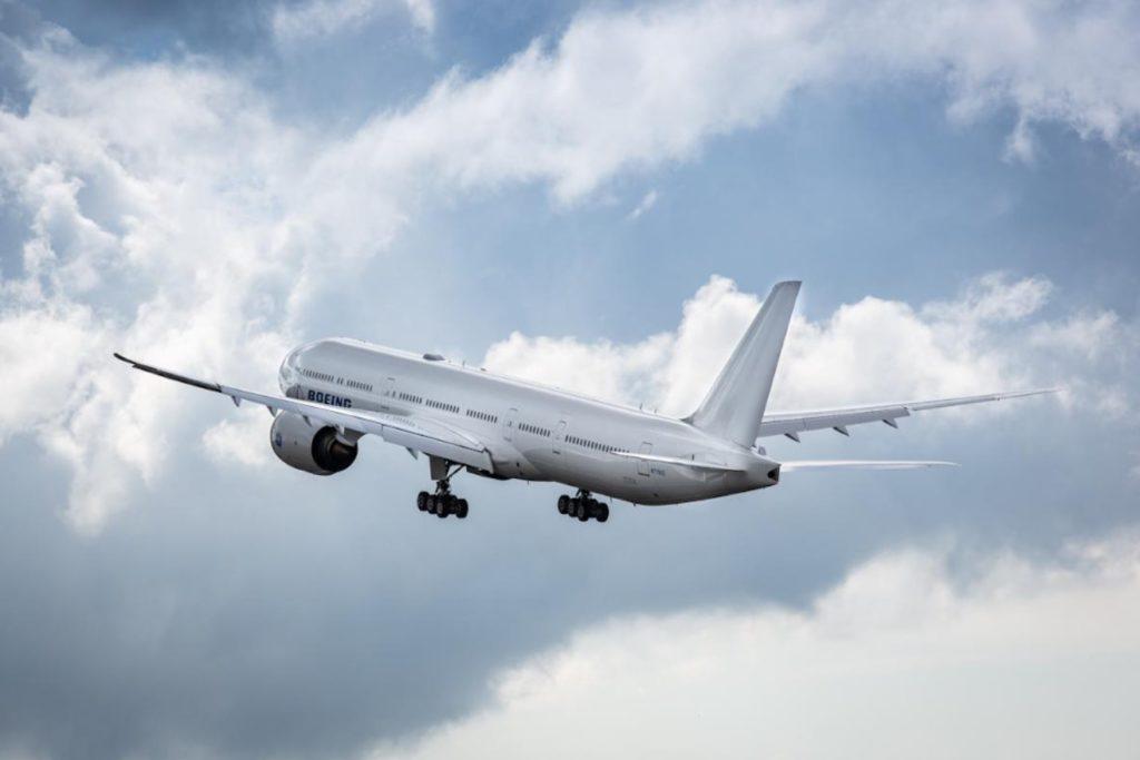 Avião Boeing 777-9 777X