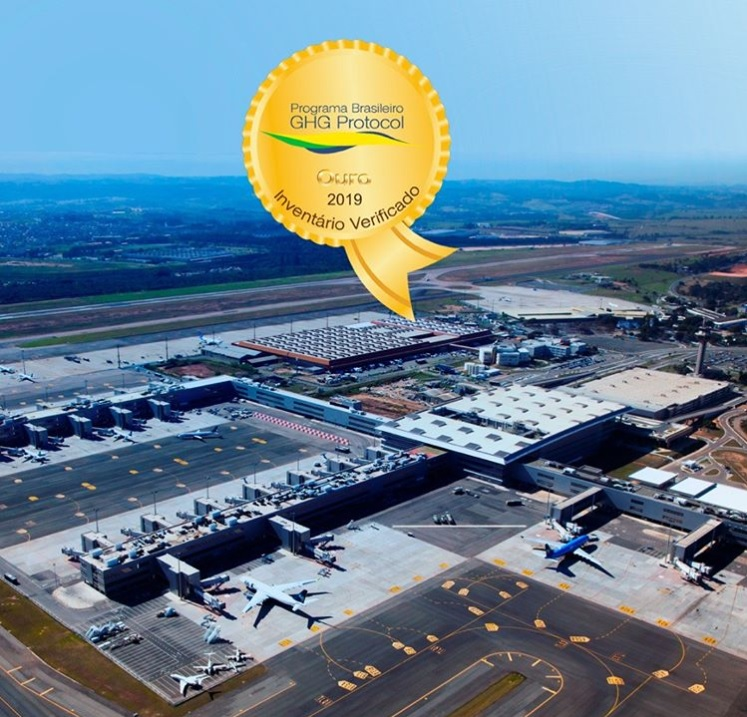 Aeroporto Viracopos Selo Ouro GHG Protocol Brasil Sustentabilidade