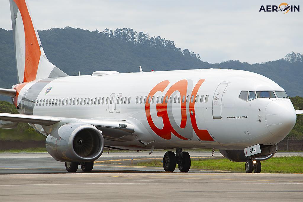 Avião Boeing 737-800 Gol Linhas Aéreas