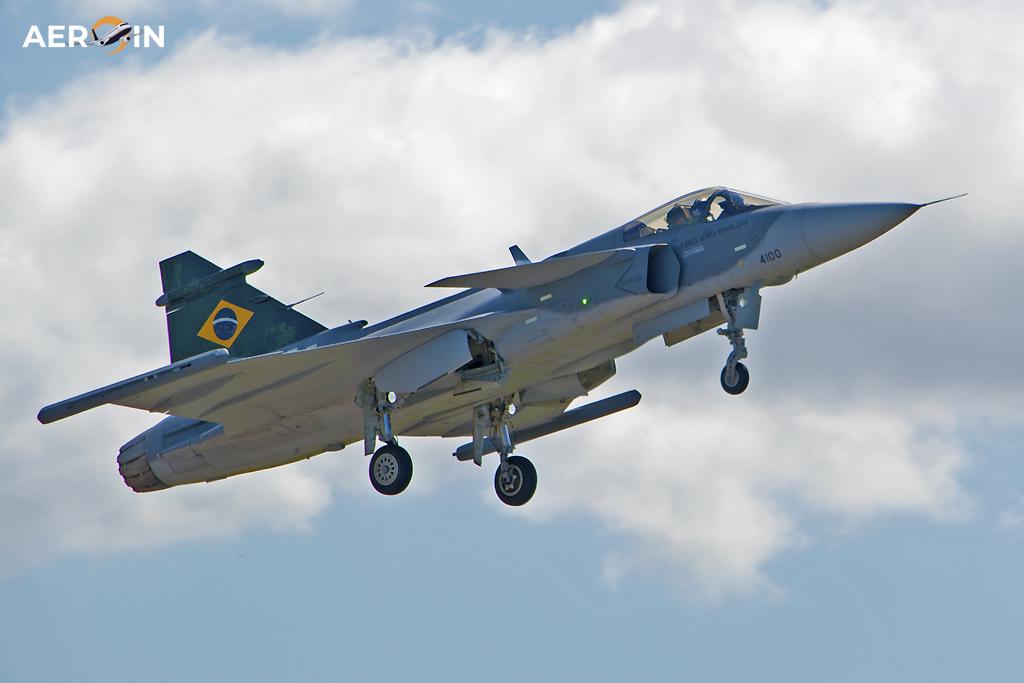 Avião Caça F-39 Gripen NG