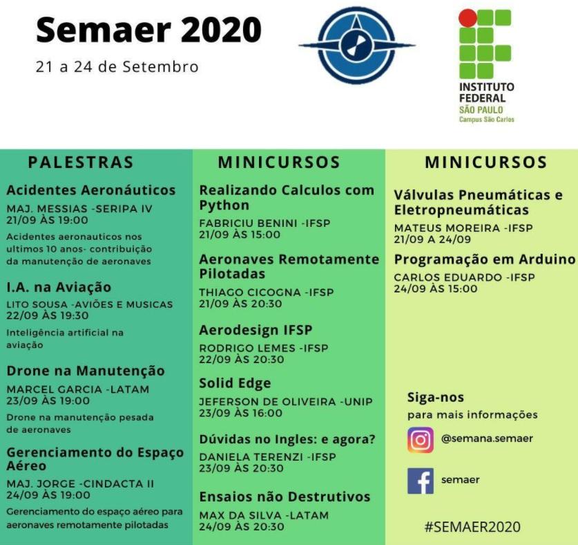 IFSP São Carlos SEMAER 2020