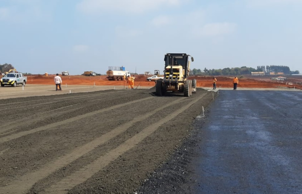 Infraero Obras Pista Foz do Iguaçu
