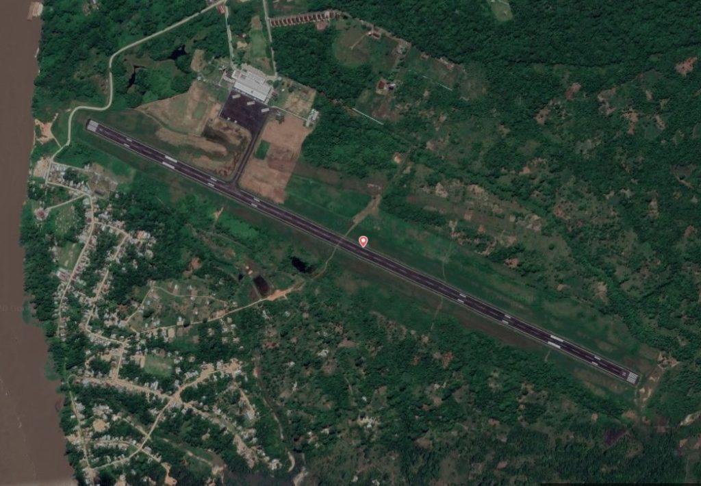 Mapa Aeroporto Tabatinga