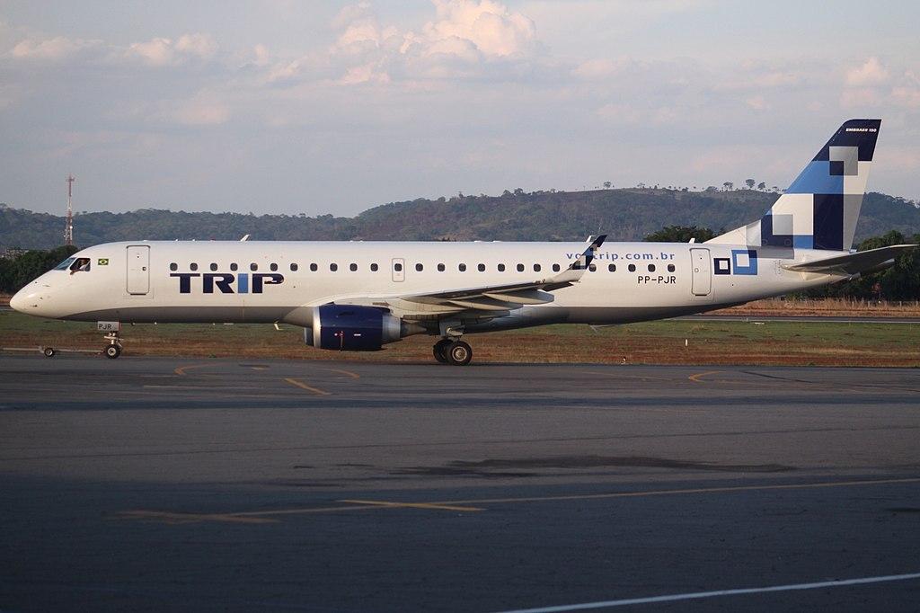 Avião Embraer E190 TRIP