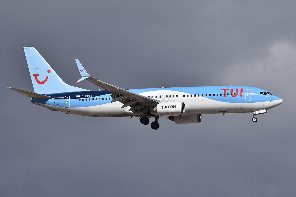 Avião Boeing 737-800 TUI