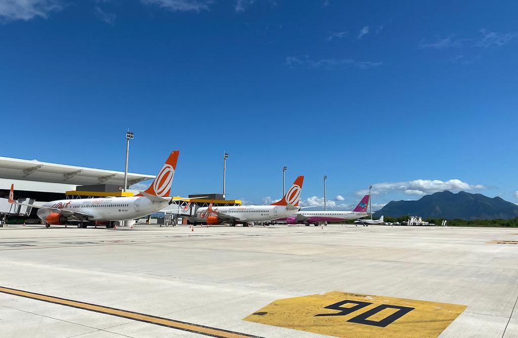 Aeroporto Vitória Pátio