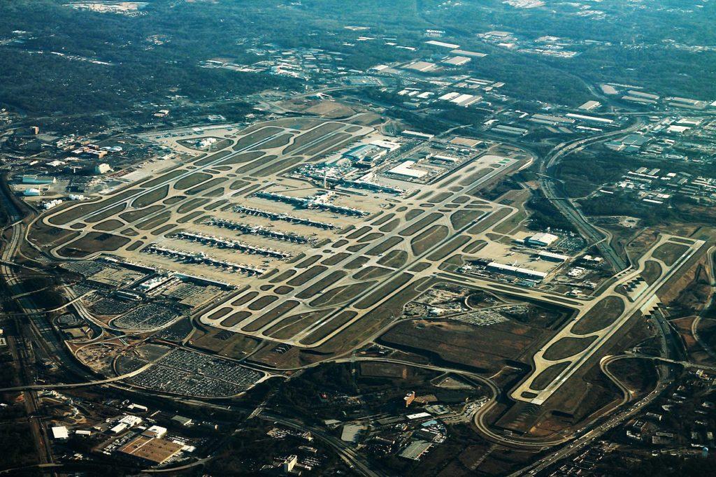 Aeroporto Atlanta Vista Aérea