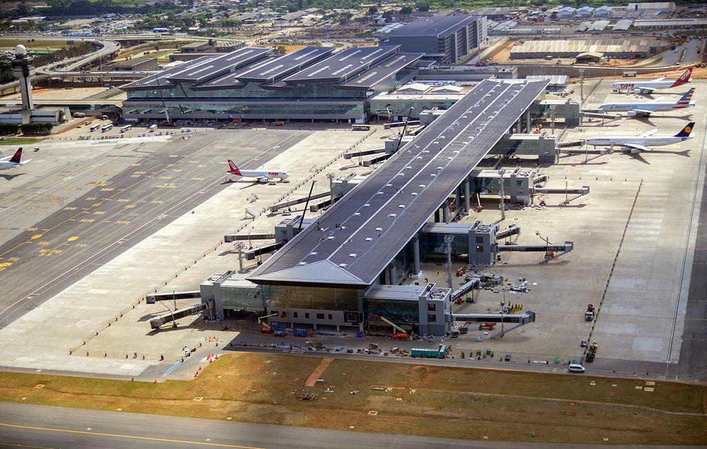Terminal 3 Aeroporto Guarulhos GRU Airport