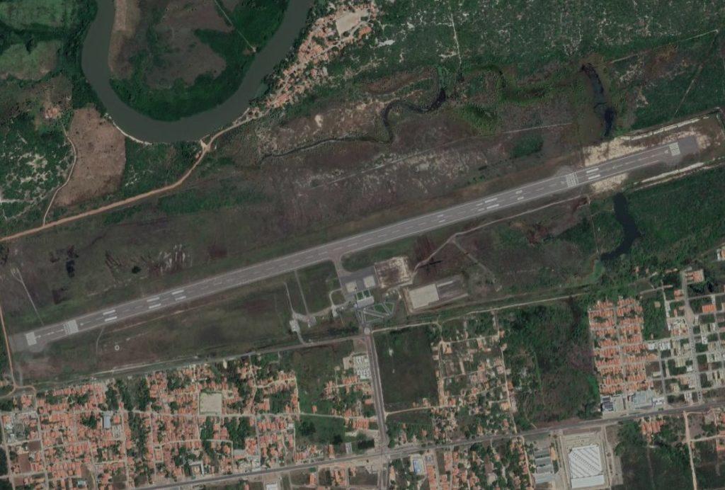 Aeroporto Parnaíba Piauí Vista Aérea