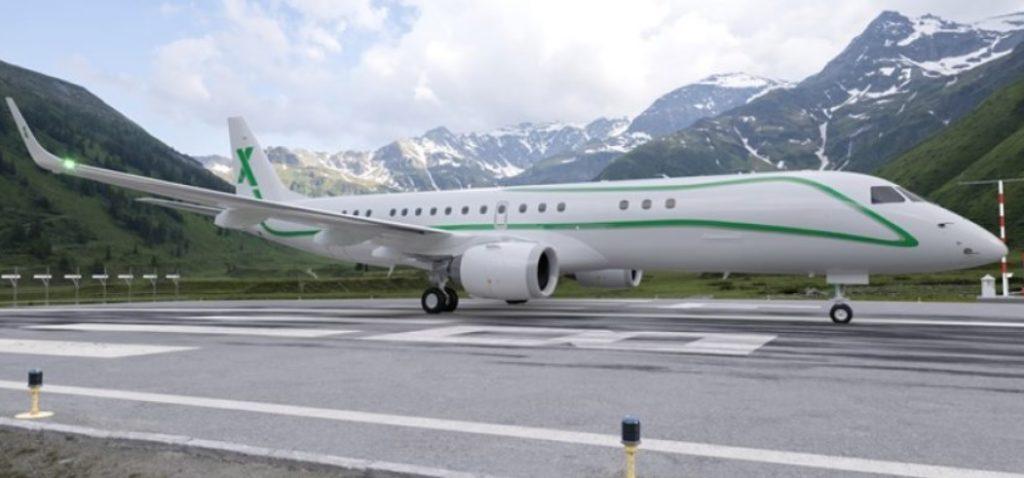 Avião Embraer Lineage 1000 AirX Charter