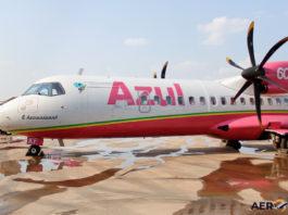Avião ATR 72-600 Azul Rosa