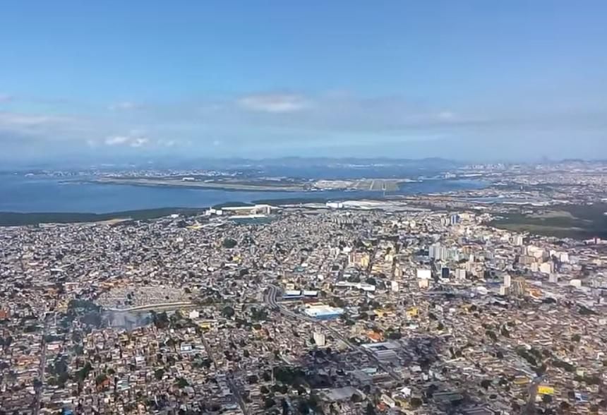 Aproximação Pouso Rio de Janeiro Galeão