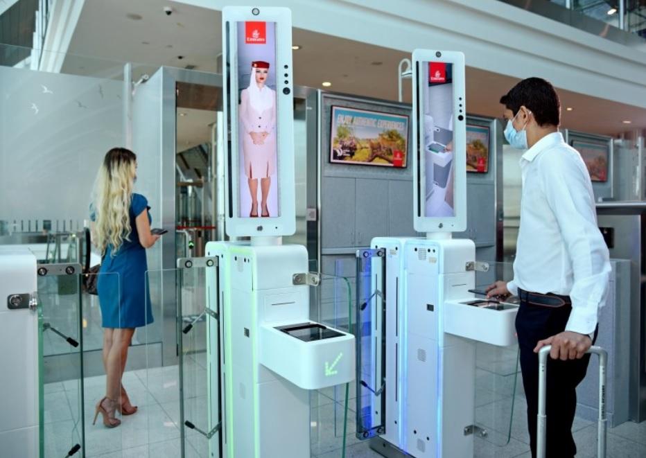 Emirates embarque biométrico Dubai