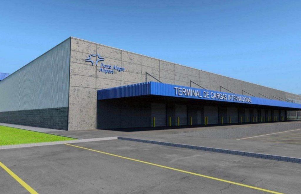 Aeroporto Porto Alegre Docas Novo Terminal Carga TECA