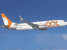 Avião Boeing 737 MAX 8 Gol Linhas Aéreas