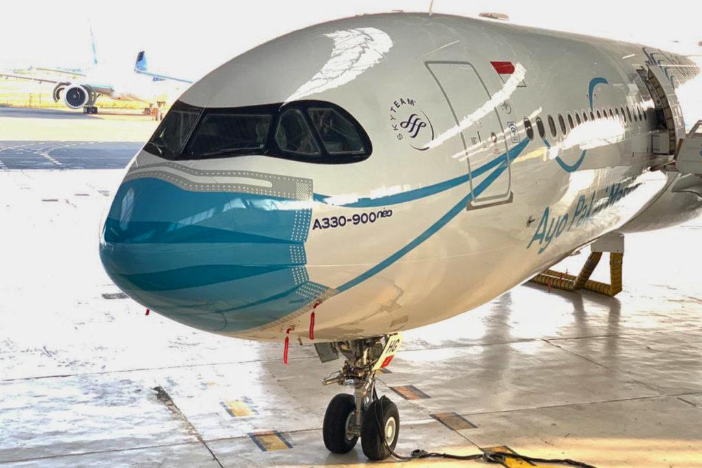 Avião A330neo Máscara Facial Covid-19