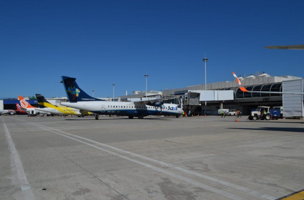 Infraero Aeroporto Santos Dumont Pátio