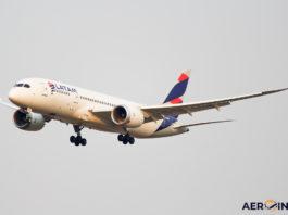 Avião Boeing 787-8 LATAM