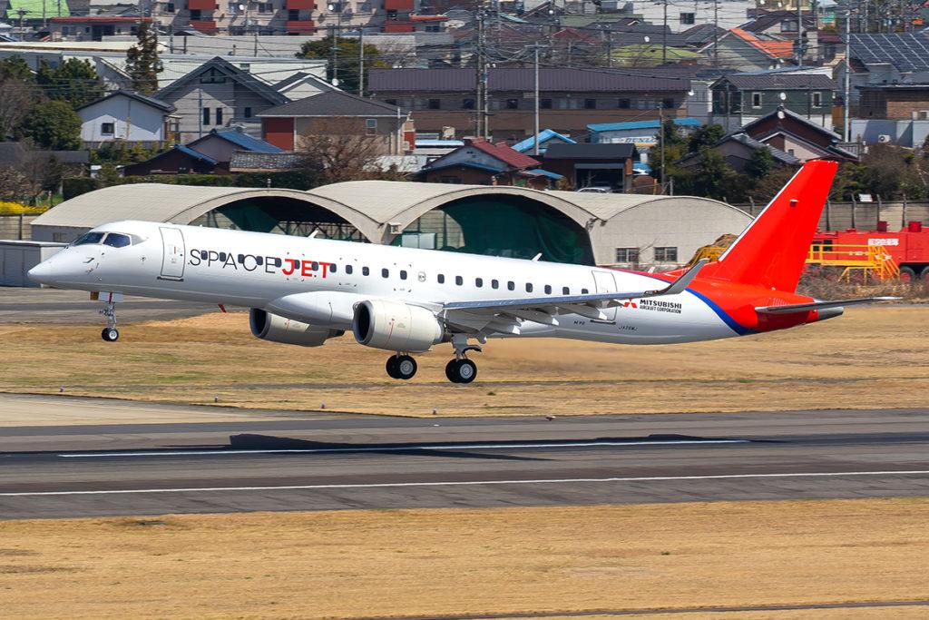 Avião Mitsubishi SpaceJet M90