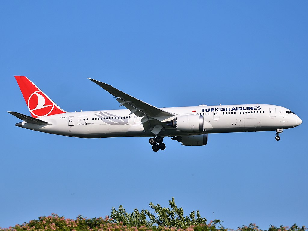 Avião Boeing 787-9 Dreamliner Turkish Airlines
