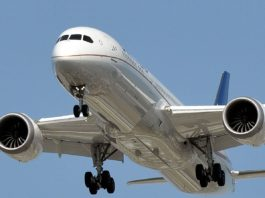 Avião Boeing 787-9 Dreamliner United Airlines
