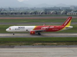 Avião Airbus A321 VietJet