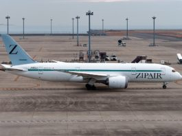 Avião Boeing 787-8 Zipair