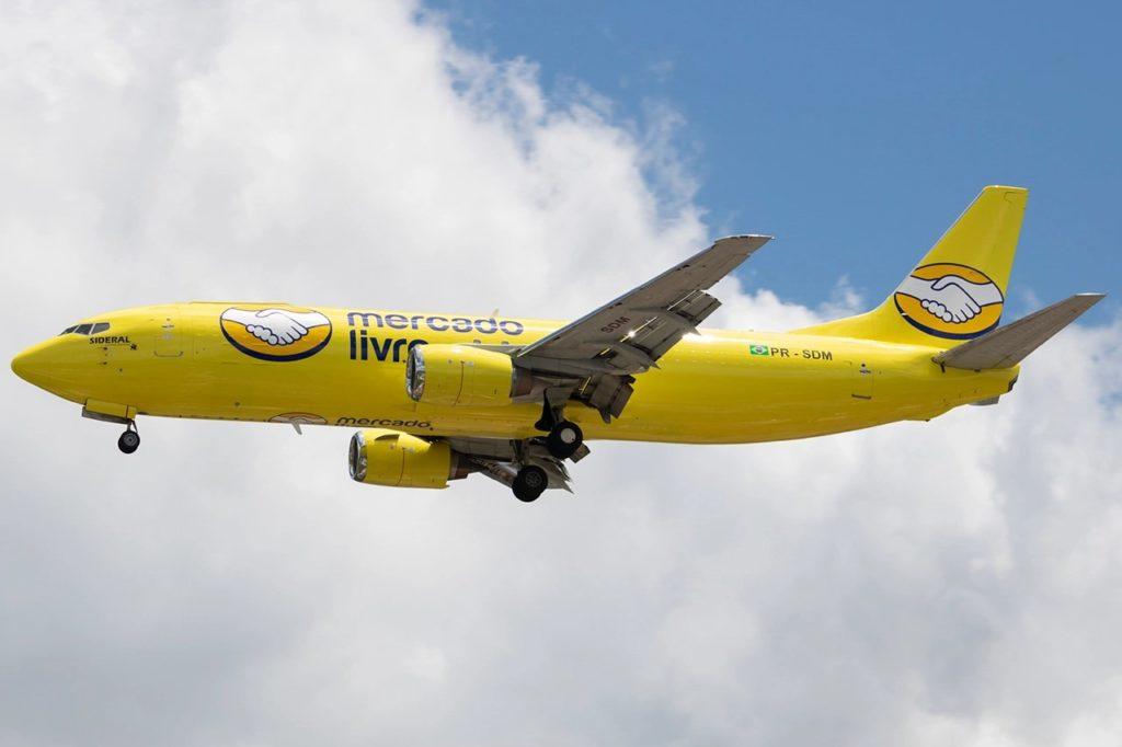 Boeing 737-400F Mercado Livre PR-SDM