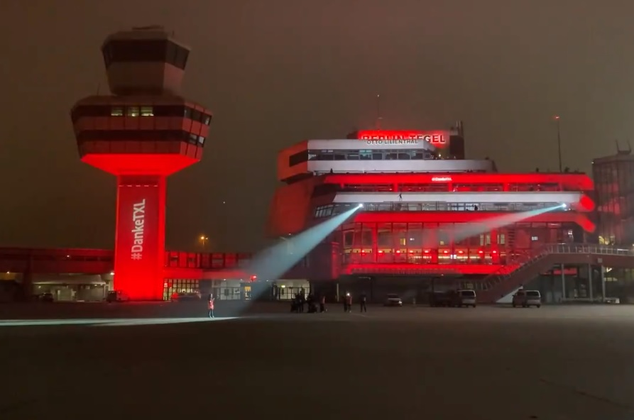 Aeroporto Berlim Tegel Despedida