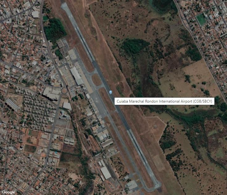 Aeroporto Cuiabá Várzea Grande Marechal Rondon