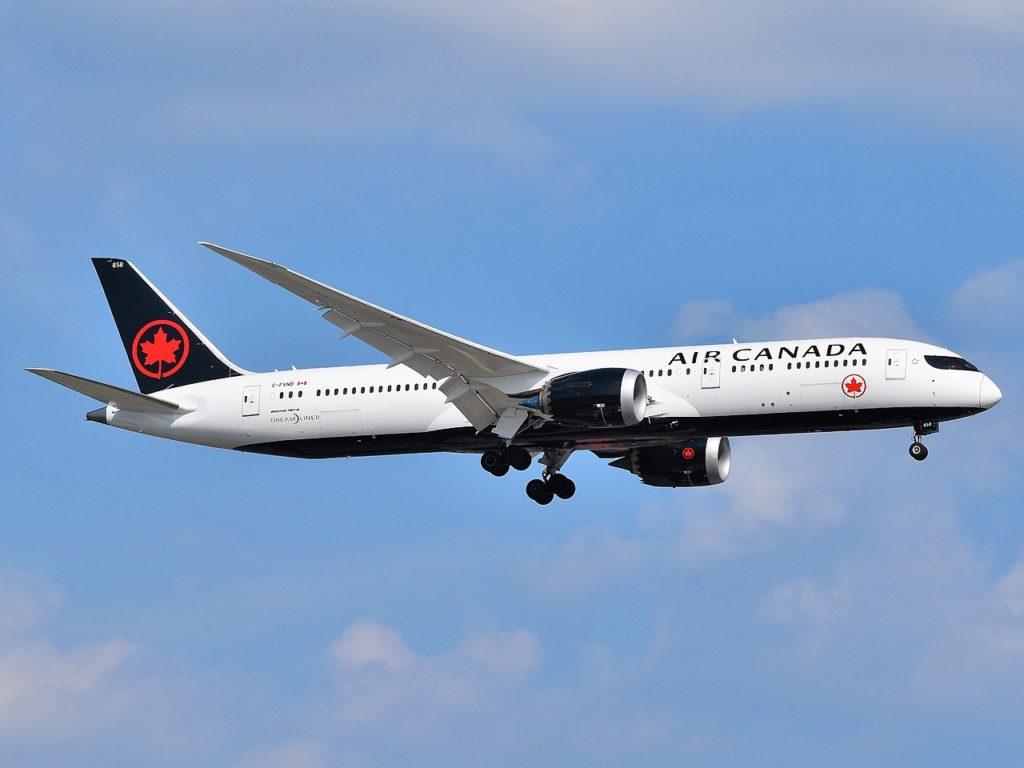 Avião Boeing 787-9 Dreamliner Air Canada