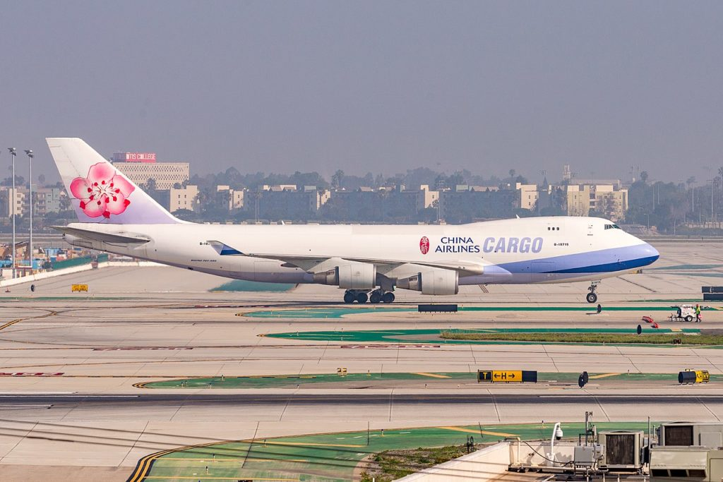 Avião Boeing 747-400F China Airlines Cargo