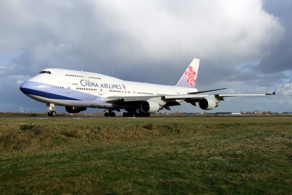Avião Boeing 747-400 China Airlines