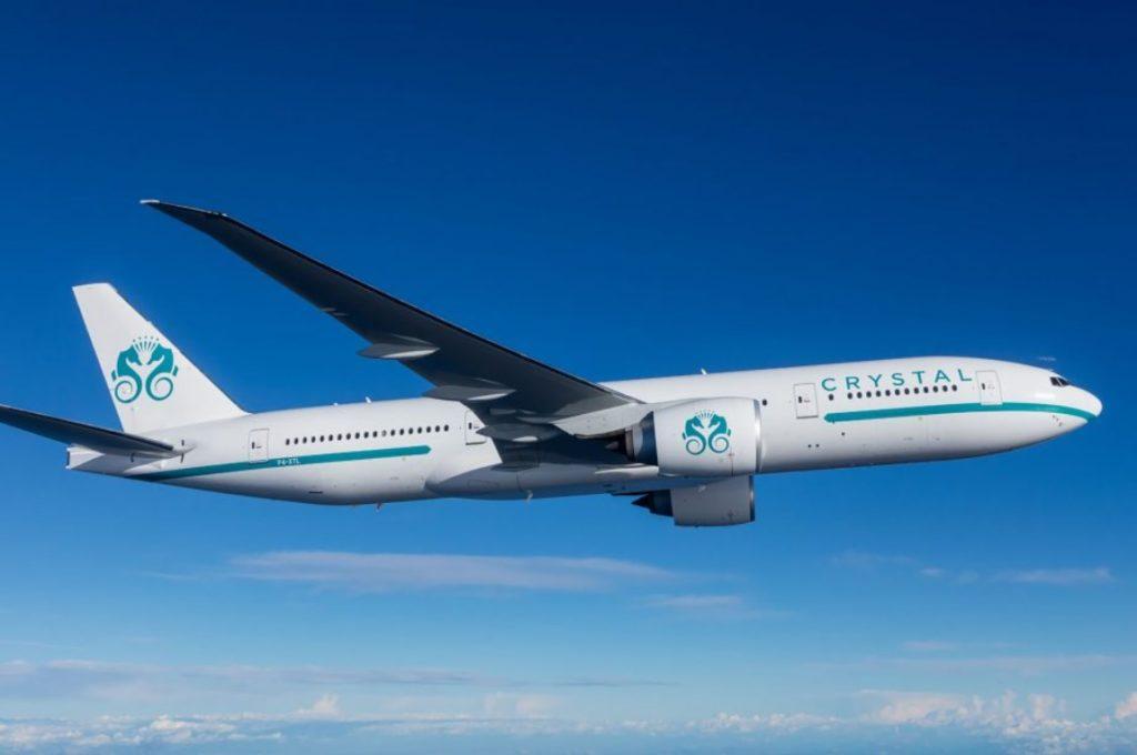 Avião Boeing 777-200 VIP Crystal Luxury Air