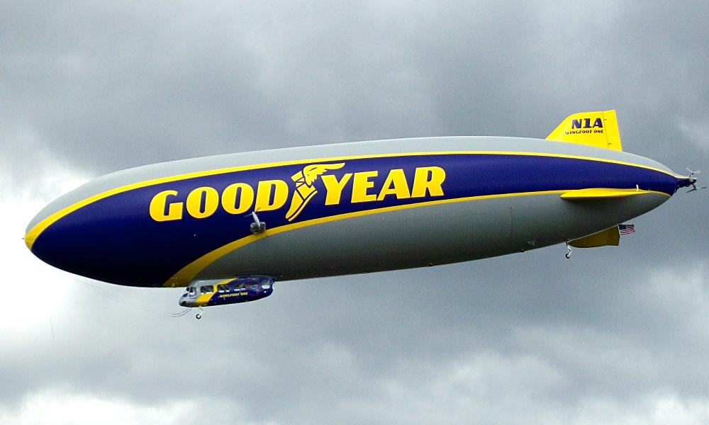 Dirigível Goodyear Blimp Wingfoot One N1A