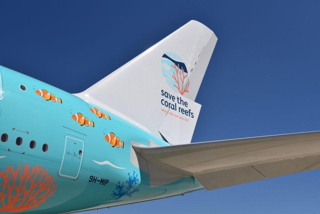 Avião Airbus A380 Hi fly