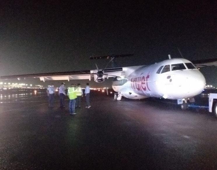 Incidente ATR 72 Trujet Pouso Duro Quebra Trem