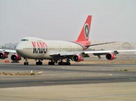 Avião Boeing 747-200 Kabo Air