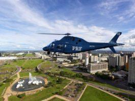 Helicóptero Leonardo AW119Kx PRF Polícia Rodoviária Federal