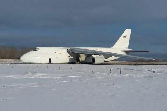 Antonov AN-124 Volga Acidente Pouso