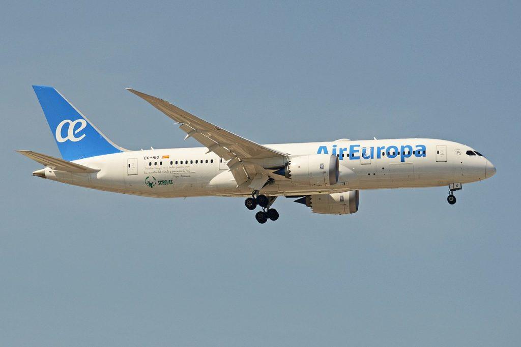 Avião Boeing 787-8 Dreamliner Air Europa