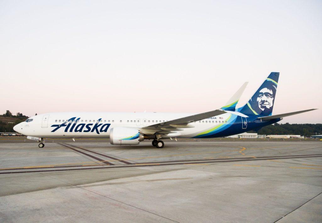 Avião Boeing 737 MAX 9 Alaska Airlines