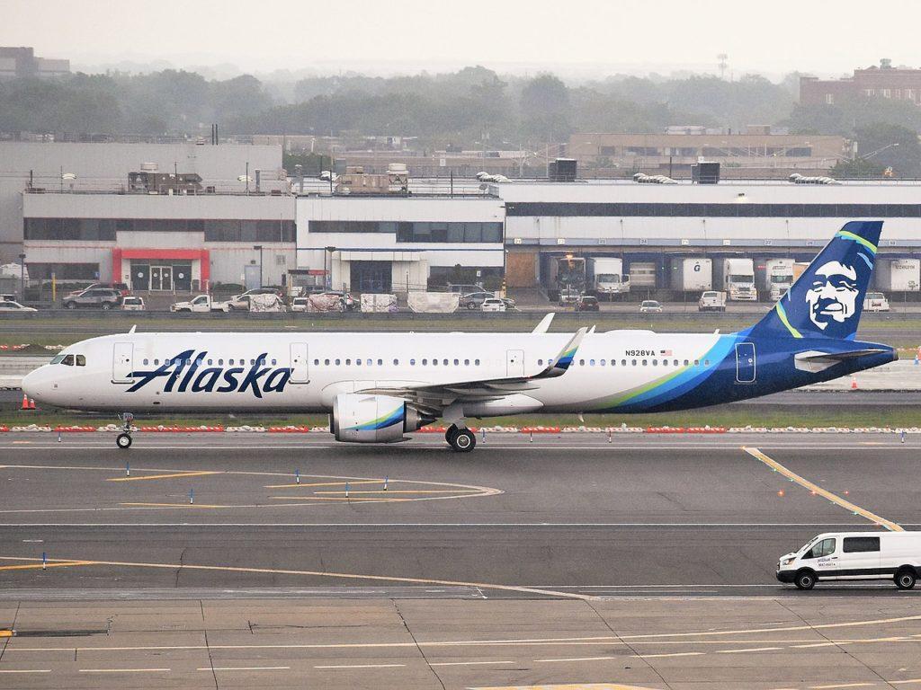 Avião Airbus A321 Alaska Airlines