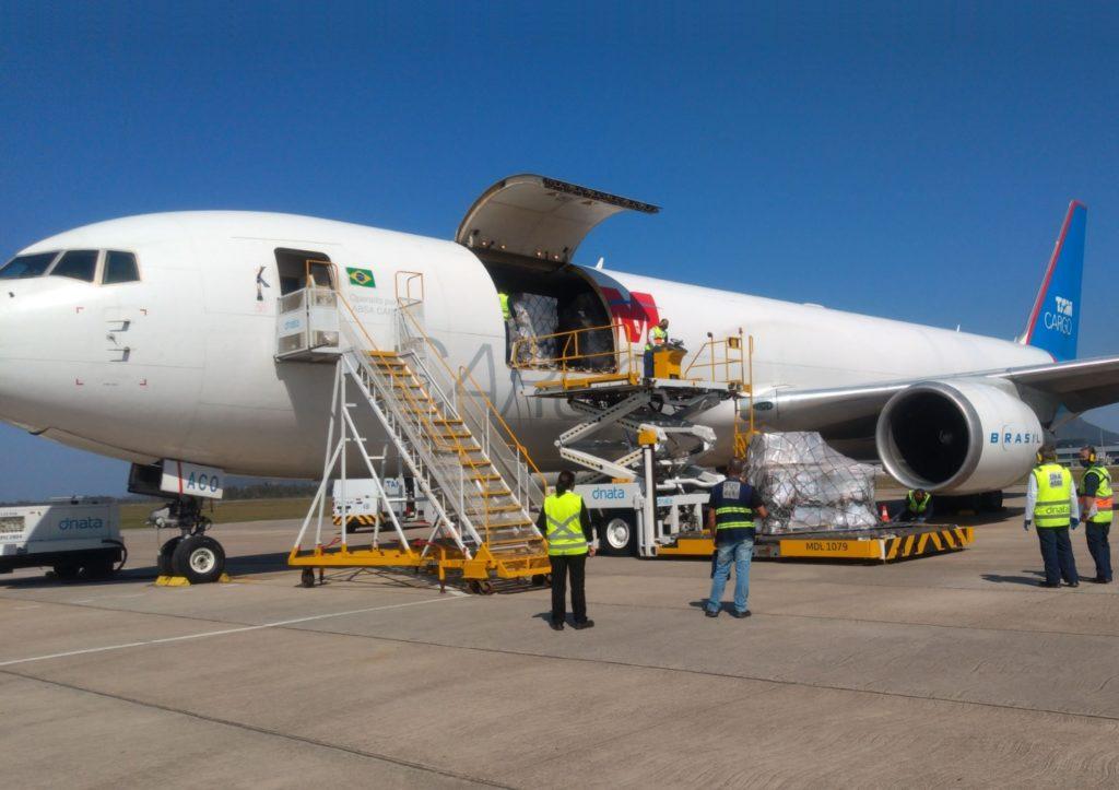 Avião Boeing 767-300F LATAM TAM Cargo