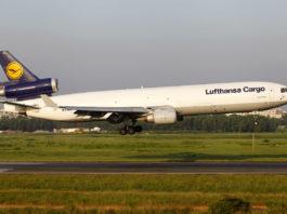 Avião McDonnel Douglas MD-11F Lufthansa Cargo