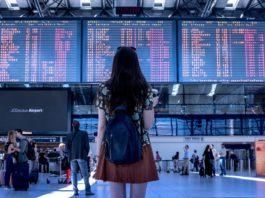 Passageiro Terminal Embarque Aeroporto